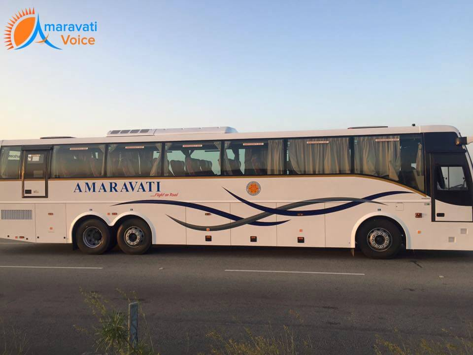 amaravati bus timings 30012016