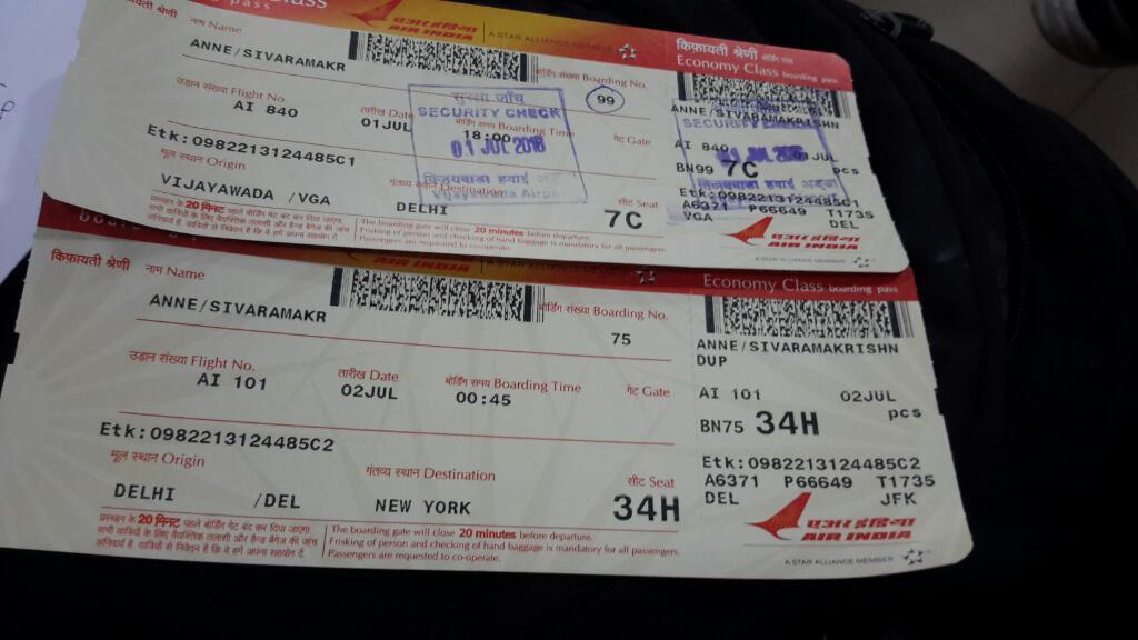 Vijayawada To America Flight Gets Good Response From