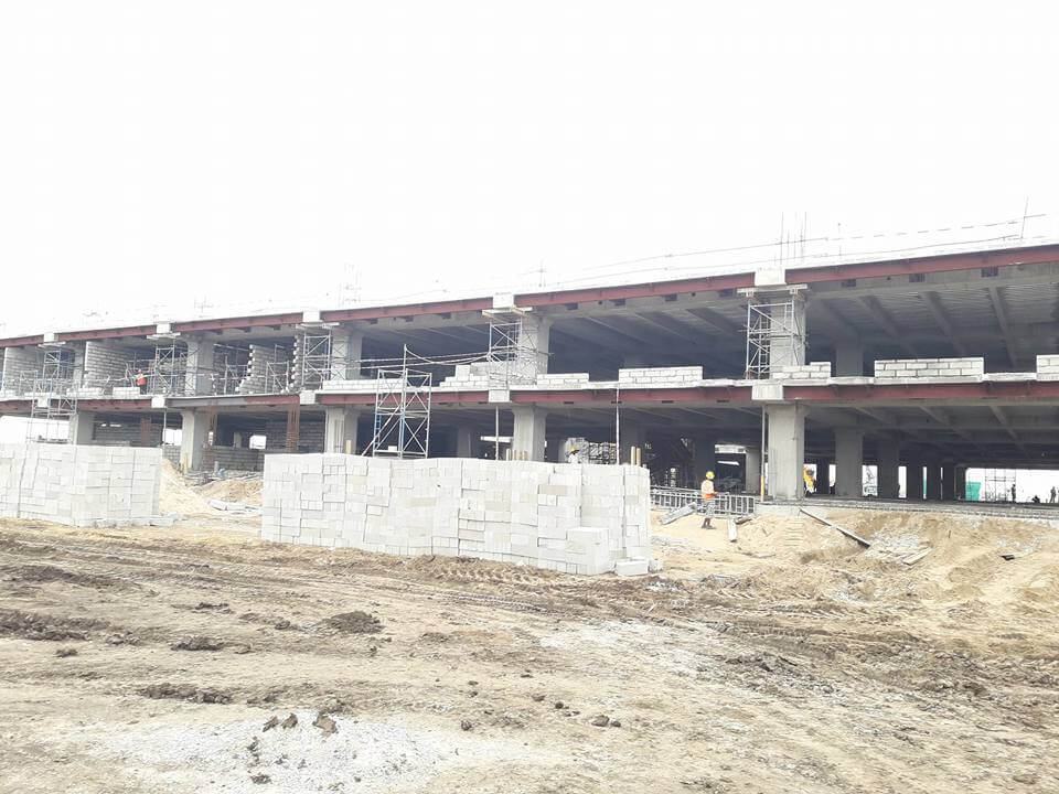 secretariat construction report 07062016 3