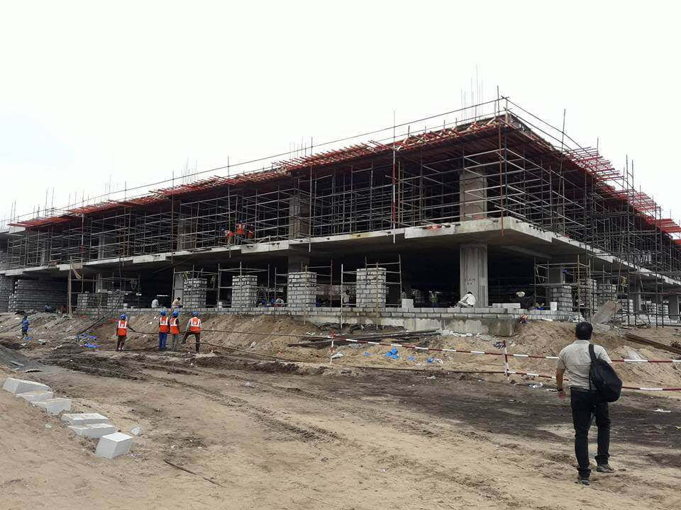 secretariat construction report 07062016 4