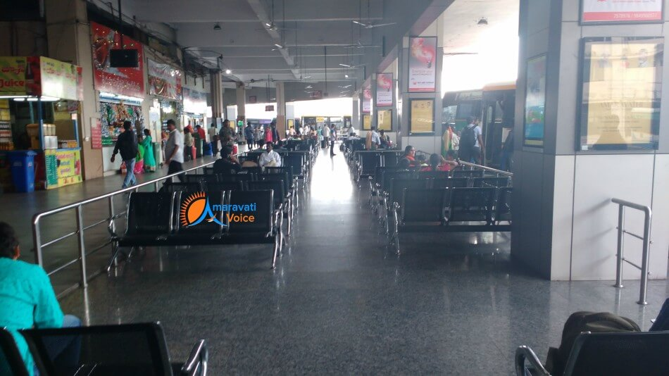 vijayawada bus stand waiting hall 1
