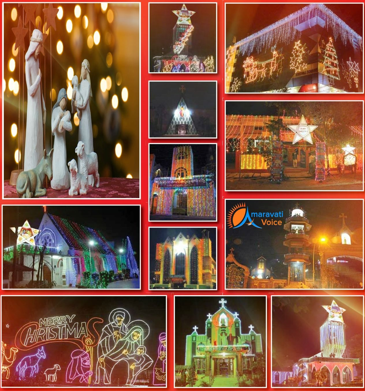 christmas celebrations Vijayawada