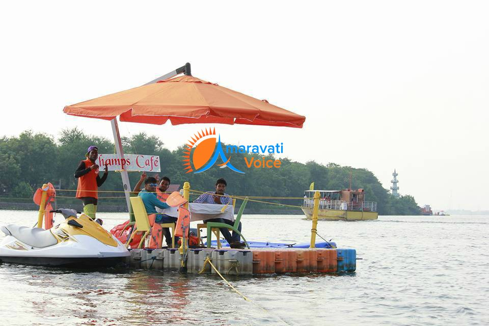 floating restaurant bhavani island