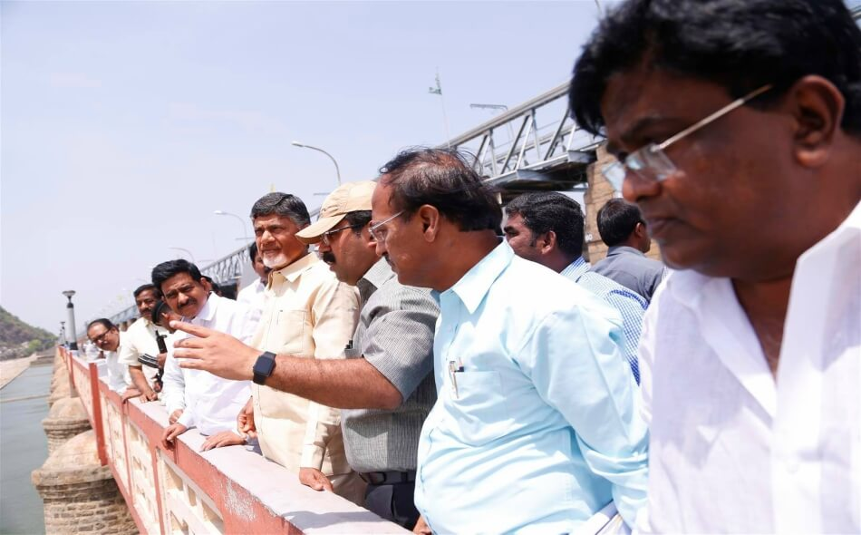 cbn pushkar ghats inspection 24052016 2