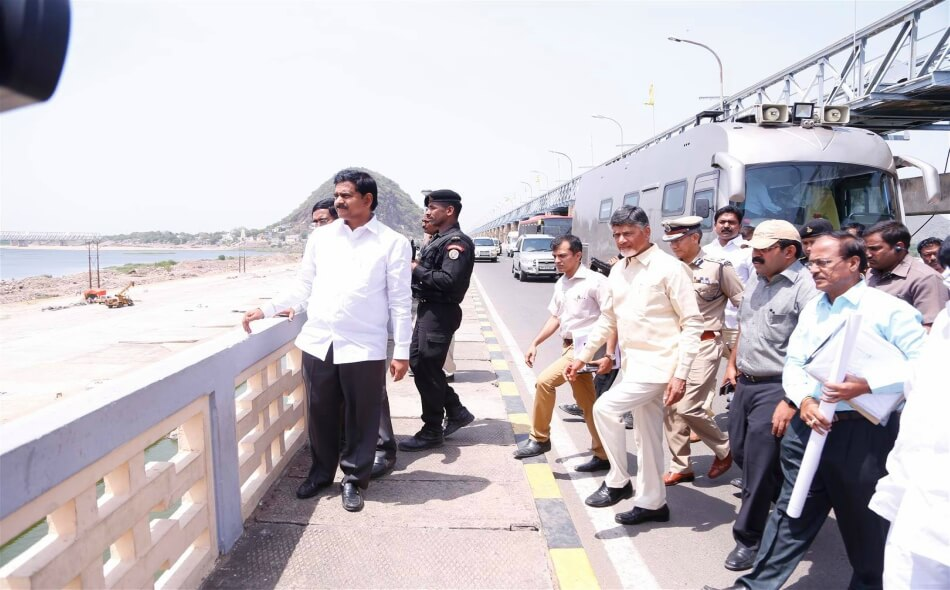 cbn pushkar ghats inspection 24052016 3