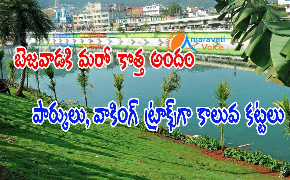 canals beautification vijayawada 09042016