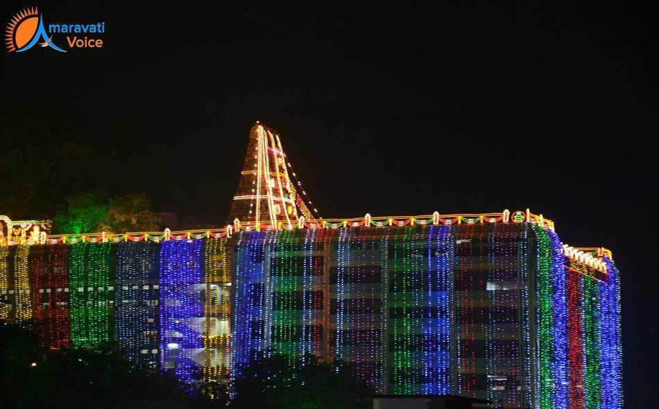 dasara lighting vijayawada 2