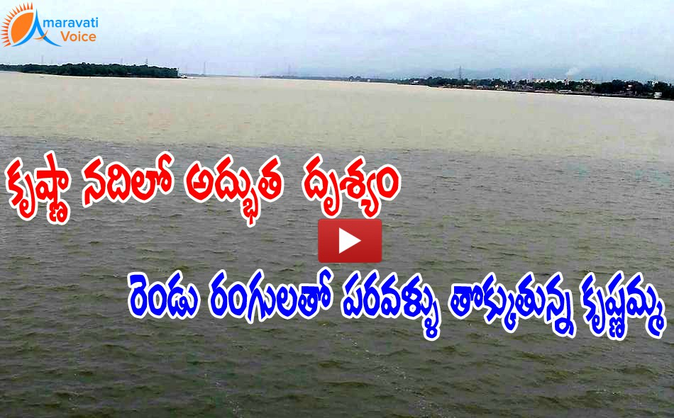 krishna river with pattiseema water 20072016 1