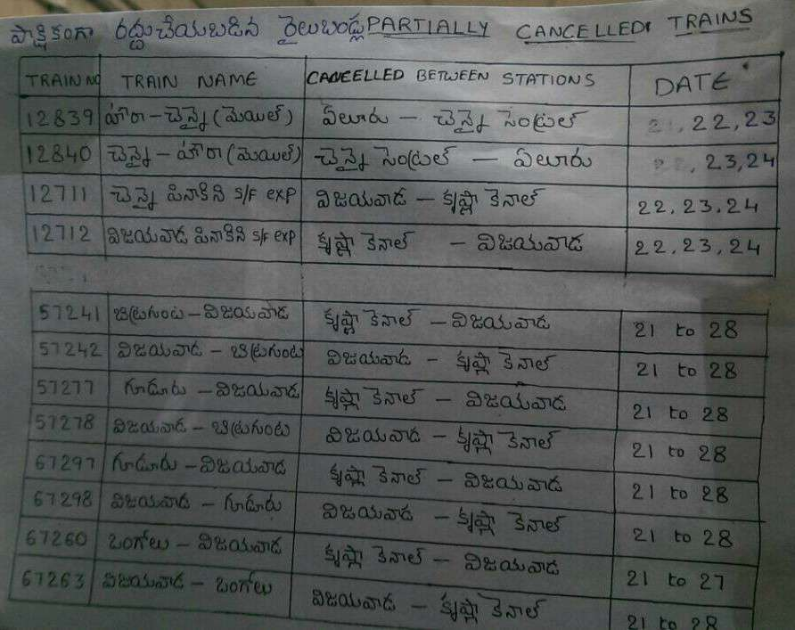 trains cacnelled vijayawada irr 22092016 3