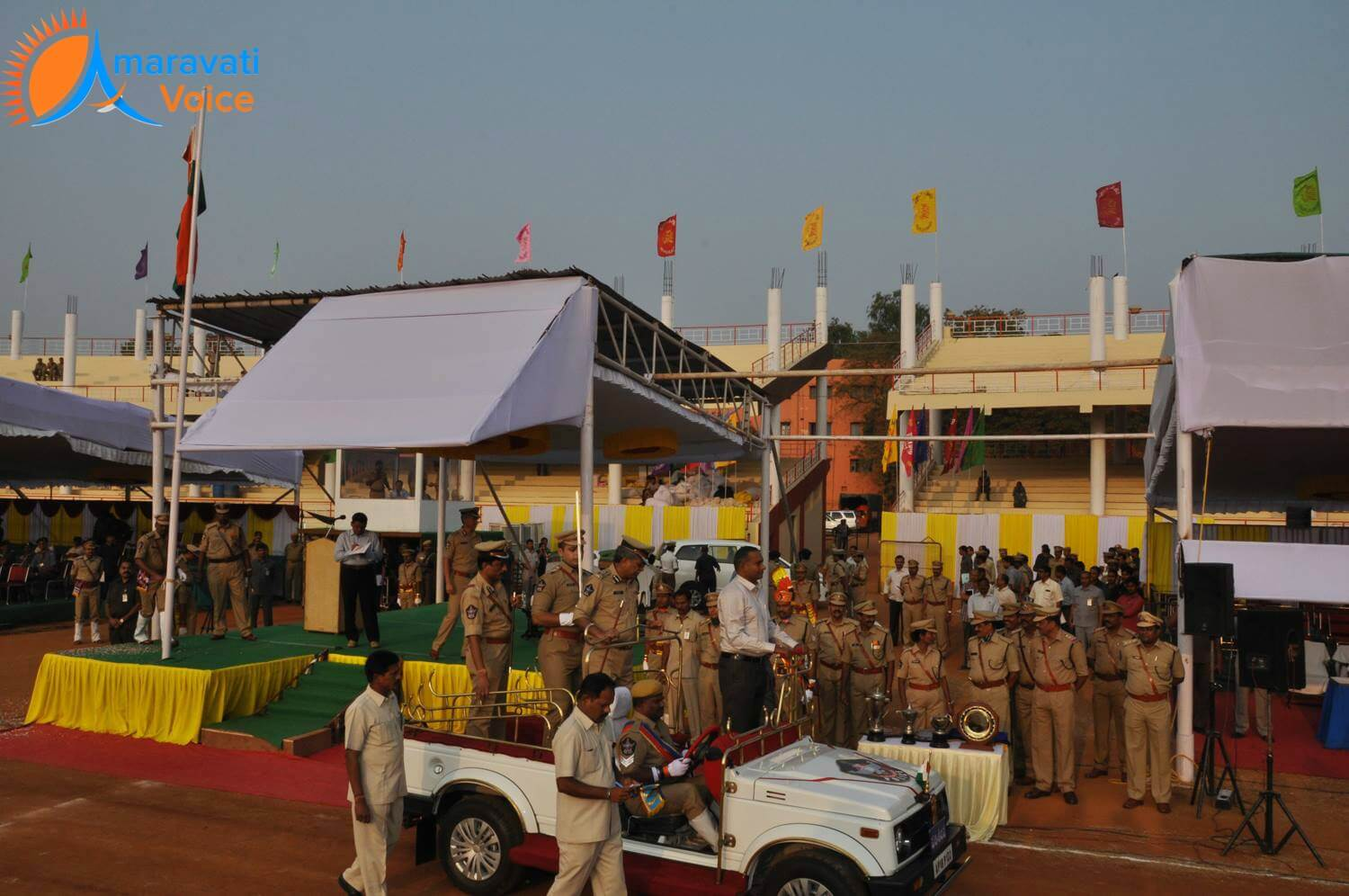 republic day arrangements vijayawada 2