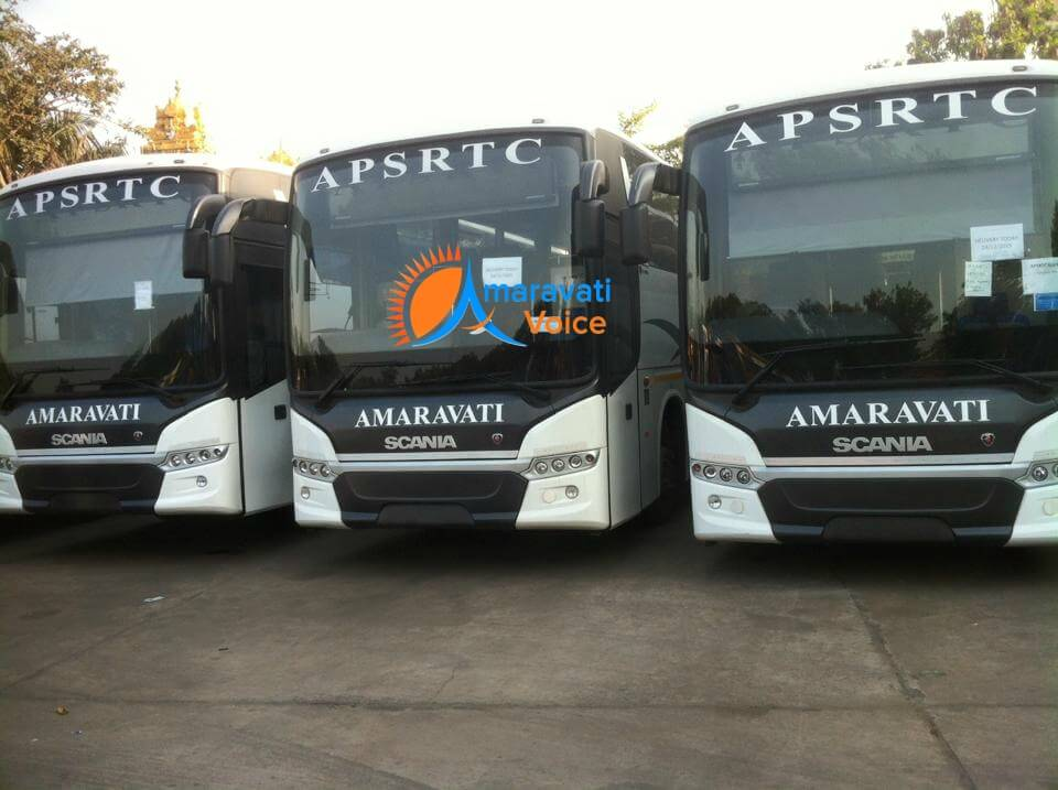 scania buses APSRTC
