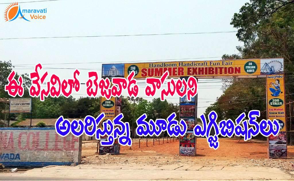 Three Exhibitions Entertaining Vijayawada Citizens This Summer News