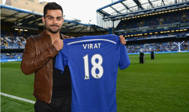 virat kohli at stamford bridge 25032016