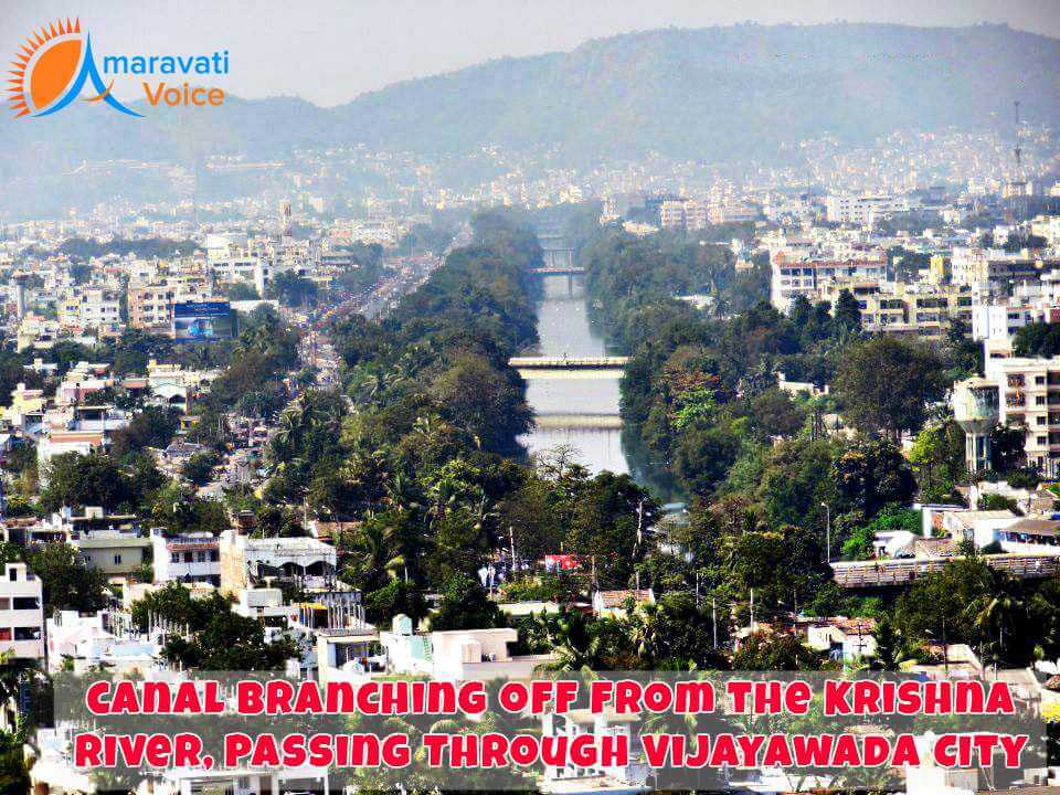 Canals in Vijayawada City