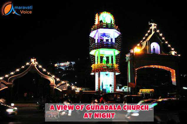 Gunadal Church at Night