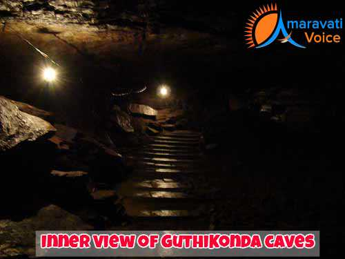 Inside Guthikonda Caves