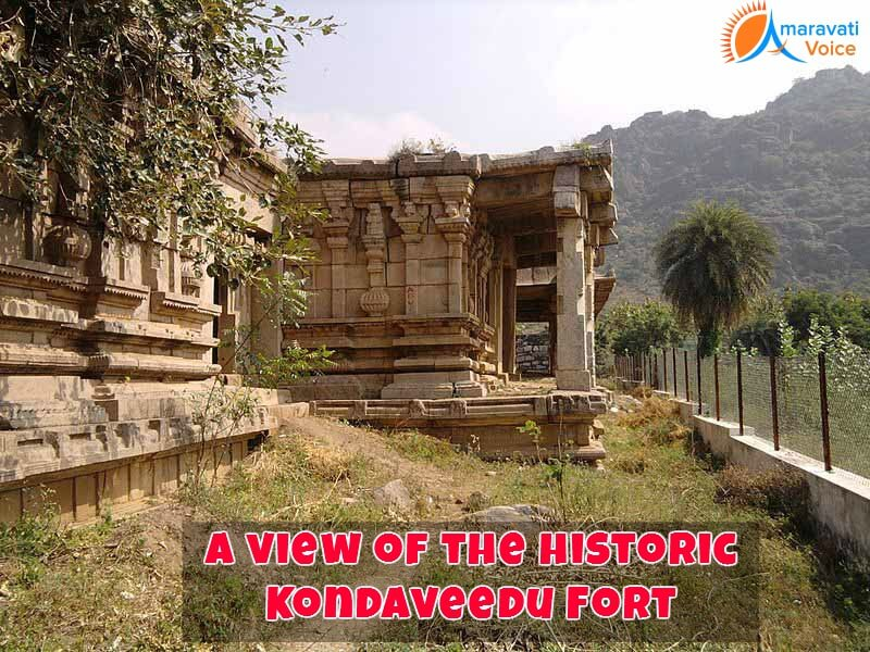 A View of Historic Kondavedu Fort