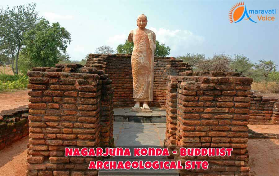 Replica of Buddha In Nagarjuna Konda