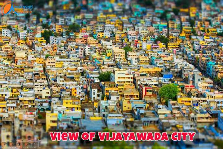 A View of Vijayawada City